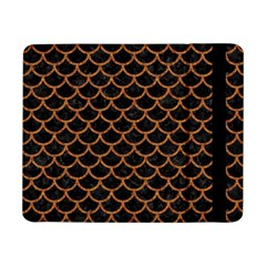 Scales1 Black Marble & Rusted Metal (r) Samsung Galaxy Tab Pro 8 4  Flip Case