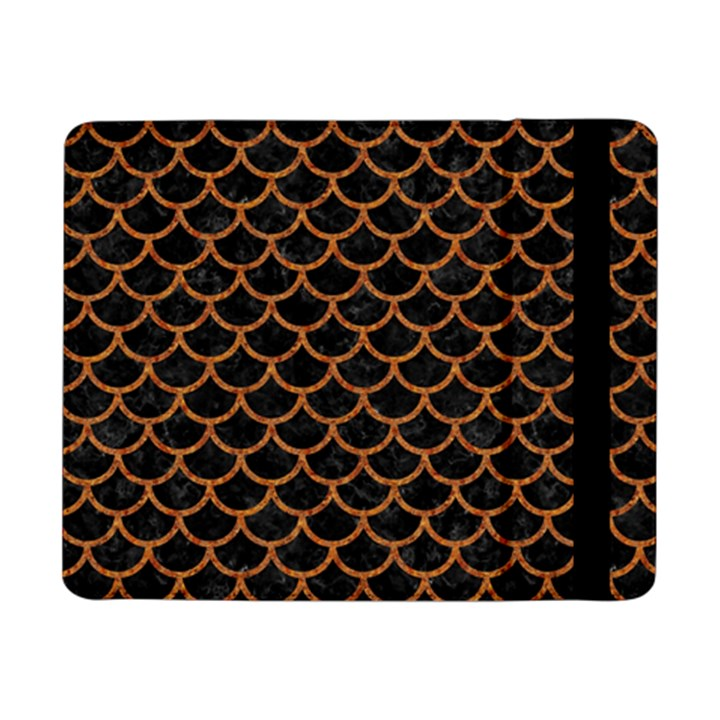 SCALES1 BLACK MARBLE & RUSTED METAL (R) Samsung Galaxy Tab Pro 8.4  Flip Case