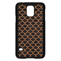 Scales1 Black Marble & Rusted Metal (r) Samsung Galaxy S5 Case (black) by trendistuff