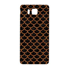 Scales1 Black Marble & Rusted Metal (r) Samsung Galaxy Alpha Hardshell Back Case