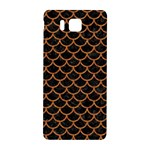 SCALES1 BLACK MARBLE & RUSTED METAL (R) Samsung Galaxy Alpha Hardshell Back Case Front