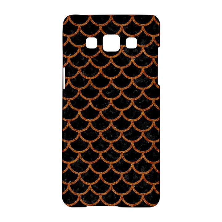 SCALES1 BLACK MARBLE & RUSTED METAL (R) Samsung Galaxy A5 Hardshell Case