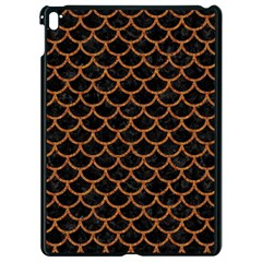 Scales1 Black Marble & Rusted Metal (r) Apple Ipad Pro 9 7   Black Seamless Case by trendistuff
