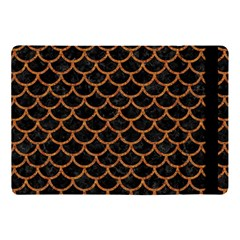 Scales1 Black Marble & Rusted Metal (r) Apple Ipad Pro 10 5   Flip Case by trendistuff