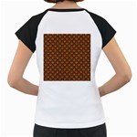 SCALES2 BLACK MARBLE & RUSTED METAL Women s Cap Sleeve T Back