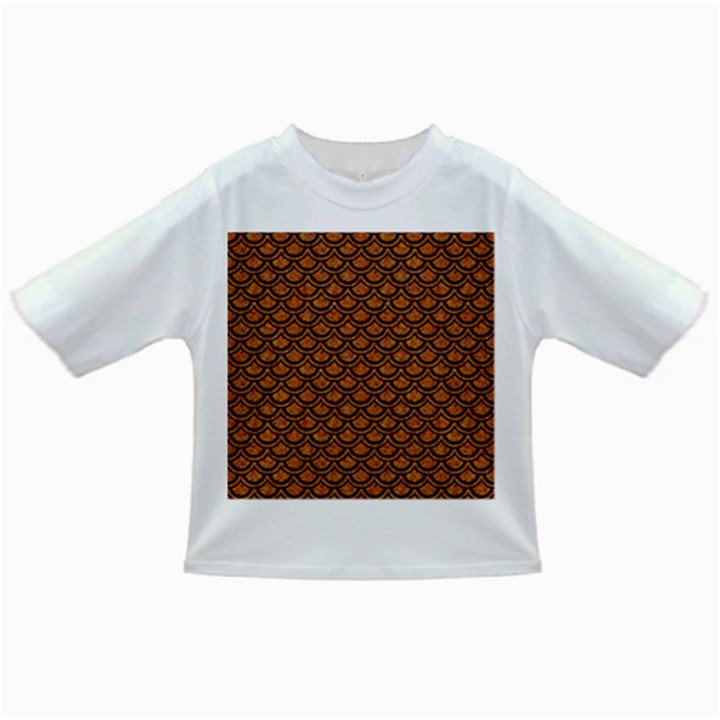 SCALES2 BLACK MARBLE & RUSTED METAL Infant/Toddler T-Shirts