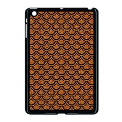Scales2 Black Marble & Rusted Metal Apple Ipad Mini Case (black) by trendistuff