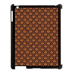 SCALES2 BLACK MARBLE & RUSTED METAL Apple iPad 3/4 Case (Black)