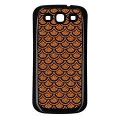 SCALES2 BLACK MARBLE & RUSTED METAL Samsung Galaxy S3 Back Case (Black)