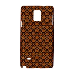 Scales2 Black Marble & Rusted Metal Samsung Galaxy Note 4 Hardshell Case by trendistuff