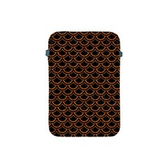 SCALES2 BLACK MARBLE & RUSTED METAL (R) Apple iPad Mini Protective Soft Cases