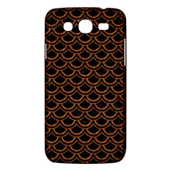 SCALES2 BLACK MARBLE & RUSTED METAL (R) Samsung Galaxy Mega 5.8 I9152 Hardshell Case