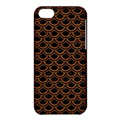 SCALES2 BLACK MARBLE & RUSTED METAL (R) Apple iPhone 5C Hardshell Case