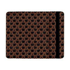 Scales2 Black Marble & Rusted Metal (r) Samsung Galaxy Tab Pro 8 4  Flip Case