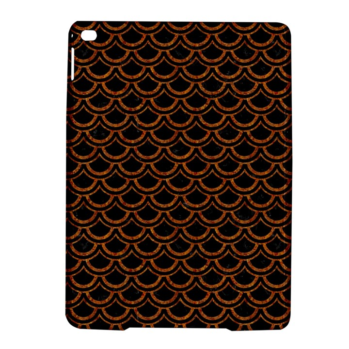 SCALES2 BLACK MARBLE & RUSTED METAL (R) iPad Air 2 Hardshell Cases