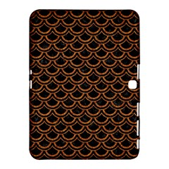 SCALES2 BLACK MARBLE & RUSTED METAL (R) Samsung Galaxy Tab 4 (10.1 ) Hardshell Case