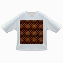 SCALES3 BLACK MARBLE & RUSTED METAL Infant/Toddler T-Shirts