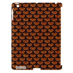 Scales3 Black Marble & Rusted Metal Apple Ipad 3/4 Hardshell Case (compatible With Smart Cover) by trendistuff