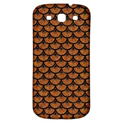 Scales3 Black Marble & Rusted Metal Samsung Galaxy S3 S Iii Classic Hardshell Back Case by trendistuff