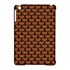 SCALES3 BLACK MARBLE & RUSTED METAL Apple iPad Mini Hardshell Case (Compatible with Smart Cover)