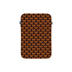Scales3 Black Marble & Rusted Metal Apple Ipad Mini Protective Soft Cases by trendistuff