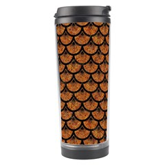 SCALES3 BLACK MARBLE & RUSTED METAL Travel Tumbler