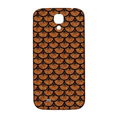 SCALES3 BLACK MARBLE & RUSTED METAL Samsung Galaxy S4 I9500/I9505  Hardshell Back Case