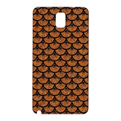 Scales3 Black Marble & Rusted Metal Samsung Galaxy Note 3 N9005 Hardshell Back Case by trendistuff