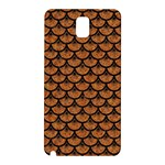 SCALES3 BLACK MARBLE & RUSTED METAL Samsung Galaxy Note 3 N9005 Hardshell Back Case Front