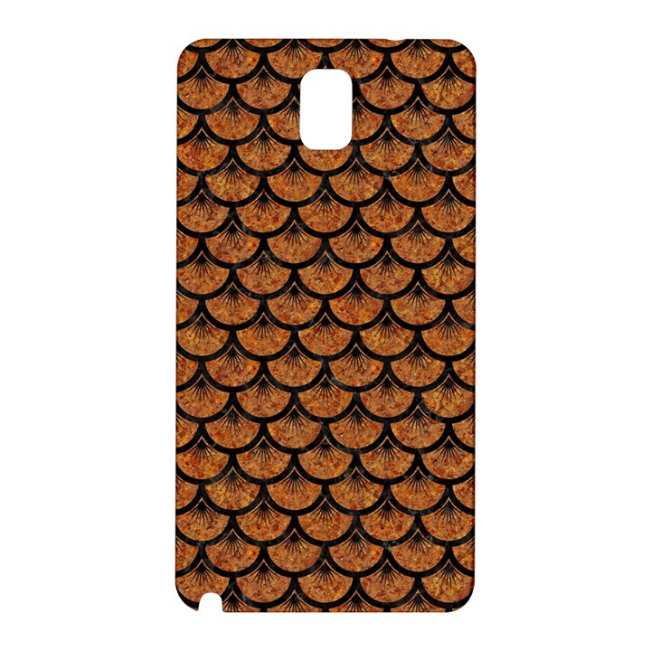 SCALES3 BLACK MARBLE & RUSTED METAL Samsung Galaxy Note 3 N9005 Hardshell Back Case