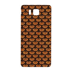 Scales3 Black Marble & Rusted Metal Samsung Galaxy Alpha Hardshell Back Case by trendistuff