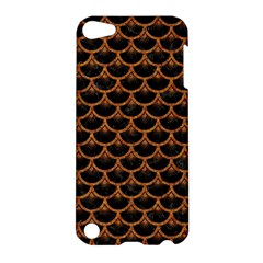 SCALES3 BLACK MARBLE & RUSTED METAL (R) Apple iPod Touch 5 Hardshell Case