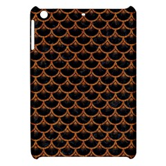 Scales3 Black Marble & Rusted Metal (r) Apple Ipad Mini Hardshell Case by trendistuff