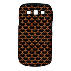 SCALES3 BLACK MARBLE & RUSTED METAL (R) Samsung Galaxy S III Classic Hardshell Case (PC+Silicone)