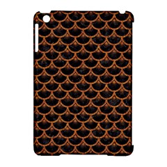 SCALES3 BLACK MARBLE & RUSTED METAL (R) Apple iPad Mini Hardshell Case (Compatible with Smart Cover)