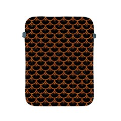 SCALES3 BLACK MARBLE & RUSTED METAL (R) Apple iPad 2/3/4 Protective Soft Cases