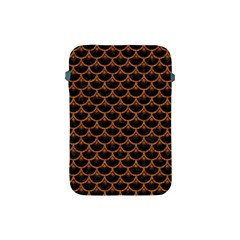 SCALES3 BLACK MARBLE & RUSTED METAL (R) Apple iPad Mini Protective Soft Cases