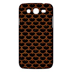 Scales3 Black Marble & Rusted Metal (r) Samsung Galaxy Mega 5 8 I9152 Hardshell Case  by trendistuff