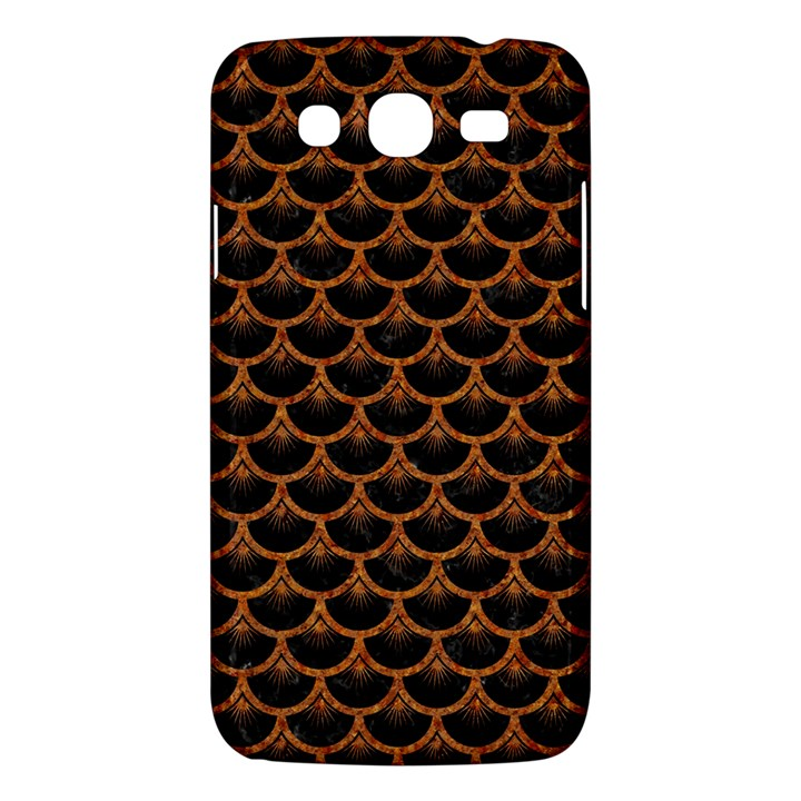 SCALES3 BLACK MARBLE & RUSTED METAL (R) Samsung Galaxy Mega 5.8 I9152 Hardshell Case