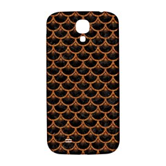 SCALES3 BLACK MARBLE & RUSTED METAL (R) Samsung Galaxy S4 I9500/I9505  Hardshell Back Case