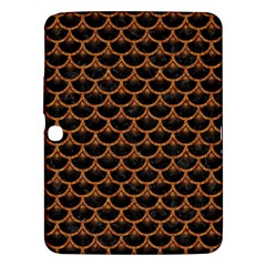 SCALES3 BLACK MARBLE & RUSTED METAL (R) Samsung Galaxy Tab 3 (10.1 ) P5200 Hardshell Case