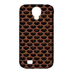 Scales3 Black Marble & Rusted Metal (r) Samsung Galaxy S4 Classic Hardshell Case (pc+silicone)