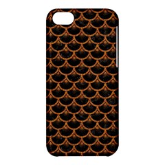 Scales3 Black Marble & Rusted Metal (r) Apple Iphone 5c Hardshell Case by trendistuff