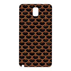 Scales3 Black Marble & Rusted Metal (r) Samsung Galaxy Note 3 N9005 Hardshell Back Case by trendistuff