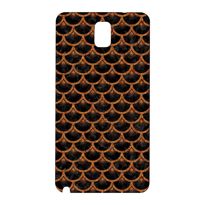 SCALES3 BLACK MARBLE & RUSTED METAL (R) Samsung Galaxy Note 3 N9005 Hardshell Back Case