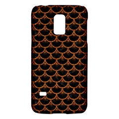 Scales3 Black Marble & Rusted Metal (r) Galaxy S5 Mini by trendistuff