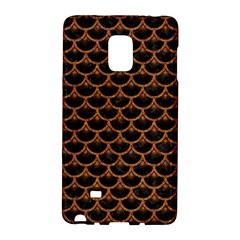 Scales3 Black Marble & Rusted Metal (r) Galaxy Note Edge by trendistuff