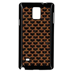 Scales3 Black Marble & Rusted Metal (r) Samsung Galaxy Note 4 Case (black) by trendistuff