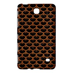 SCALES3 BLACK MARBLE & RUSTED METAL (R) Samsung Galaxy Tab 4 (7 ) Hardshell Case