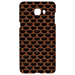 Scales3 Black Marble & Rusted Metal (r) Samsung C9 Pro Hardshell Case  by trendistuff